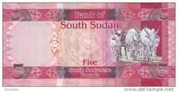 SOUTH SUDAN P.  6 5 P 2011 UNC - Zuid-Soedan