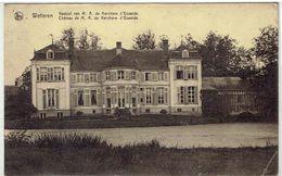 WETTEREN - Kasteel Van M. A. De Kerchove D' Exaerde - Belgische Legerposterijen Verzonden Uit Duitsland 1925 - Wetteren