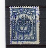 COLOMBIE - Y&T N° 247° - Perfin - Perforé - Colombia