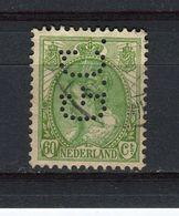 PAYS-BAS - Y&T N° 81A° - Perfin - Perforé - Wilhelmine - Used Stamps