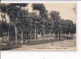 FRONTONAS : Champ De Mars - Très Bon état - Other Municipalities