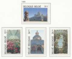 NB - [152927]TB//**/Mnh-[2340/43] Belgique 1989, Les Serres Royales De Laeken, Architecte Alphonse Balat, Fleurs, SC, SN - Flora