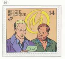 NB - [153164]TB//**/Mnh-[2428] Belgique 1991, Philatélie De La Jeunesse, Blake Et Mortimer, Bédé, Bandes Dessinées, SNC - Comics