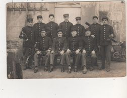 CPA  GRANDVILLERS LES POMPIERS PHOTO ALLEYRAT - Other Municipalities