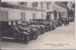 CHANTILLY - Hôtel Du Parc Automobile Voiture Ancienne - Chantilly
