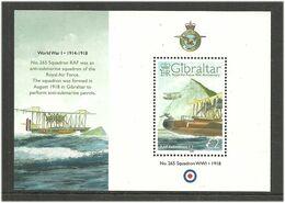 Gibraltar 2008   90 Years Royal Air Force (RAF),  Mi Bloc 83 MNH(**) - Gibraltar