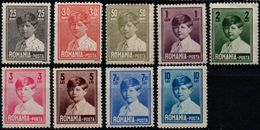 Romania 1928-29 1943-45, Scott 320-328, MNH, King Michael / Mihai - Nuevos