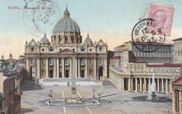 Roma - Piazza San Pietro -fp Vg - San Pietro