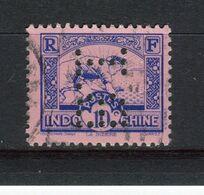 INDOCHINE - Y&T N° 216° - Perfin - Perforé - Rizière - Indochine (1889-1945)