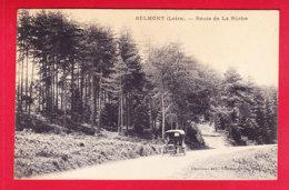 F-42-Belmont-01P234  Route De La Bûche, Vieille Voiture, Cpa BE - Belmont De La Loire