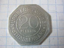 Germany , Tram Token , Strassenbahn Nurnberg Further , 20 Pfennig ( Berolz Heimerianum Furth) - Duitsland