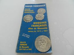 Argus  Thimonier  A 79    Cotes   En  Francs - Livres & Logiciels