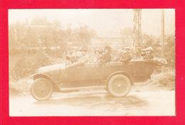 Auto-172A88  Carte Photo, FIAT Type 6, Transformé En Car D'excursion, Cpa BE - Toerisme