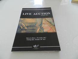 Live   Auction  Octobre  2017   Billets De Banque  Cgb - Livres & Logiciels