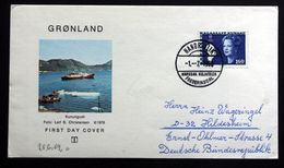 Greenland 1980 NANORTALIK 1-7-1980 FREDERIKSDAL ( Lot 112) - Groenland