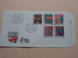 CARITAS 1983 ( Enveloppe ( E 242 ) Omslag > Voir Photo Svp ) N° 23667 ! - FDC