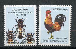 Norvège, Yvert 864&865**, MNH - Norvège