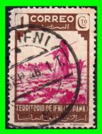 COLONIAS ESPAÑOLAS Y DEPENDENCIAS ( IFNI PROTECTORADO ESPAÑOL ) SELLO AÑO 1943 VALOR 1 CENTIMOS - Ifni