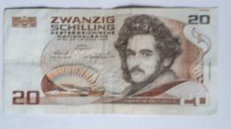 OOSTENRIJK ;: 20 S CHILLING 1 OKTOBER 1986 - Repubblica Ceca