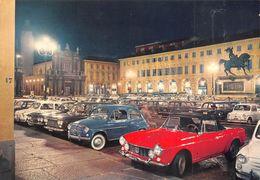 """010880 """"TO - P.ZZA S. CARLO-MONUMENTO E. FILIBERTO"""" AUTO FIAT SPIDER TO 615446. SACAT.  CART NON SPED - Places & Squares"""