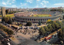 "010881 ""TO - STADIO COMUNALE"" ANIMATA, AUTO, BUS. CAMION POLIZIA, AMBULANZE.  SACAT.  CART NON SPED - Stadiums & Sporting Infrastructures"