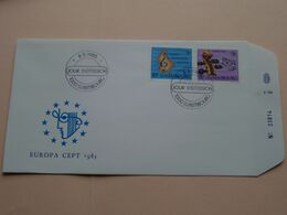 EUROPA CEPT 1985 ( Enveloppe ( E 256 ) Omslag > Voir Photo Svp ) N° 23814 ! - FDC