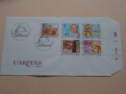 CARITAS 1984 ( Enveloppe ( E 252 ) Omslag > Voir Photo Svp ) N° 22266 ! - FDC
