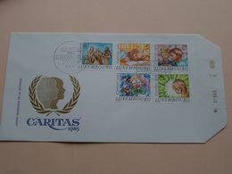 CARITAS 1985 ( Enveloppe ( E 261 ) Omslag > Voir Photo Svp ) N° 21505 ! - FDC