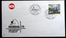 Greenland  1998 Cover KALAALLIT NUNAAT NORDIA 98  ( Lot 121 ) - Brieven En Documenten
