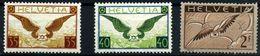 Suiza (Aéreos) Nº 13a/15b. Año 1929/37 - Posta Aerea