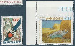 FRANCE NEUF N° 3639 ET 3690 - France