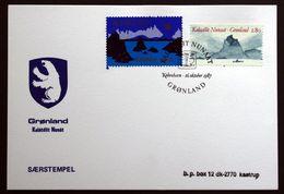 Greenland  1987  Special Cancel Kalatdlit Nunat HAFNIA 1987 ( Lot 122 ) - Groenland