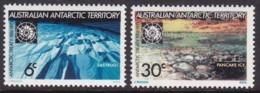 Australian Antarctic Territory 1971 SC L19-20 Mint Never Hinged - Australian Antarctic Territory (AAT)