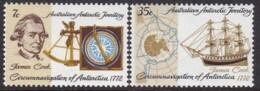 Australian Antarctic Territory 1972 SC L21-22 Mint Never Hinged - Australian Antarctic Territory (AAT)