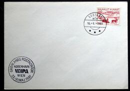 Greenland  1981  Special Cancel WIPA 1981 Wien ( Lot 150 ) - Groenland