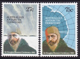 Australian Antarctic Territory 1982 SC L53-54 Mint Never Hinged - Australian Antarctic Territory (AAT)