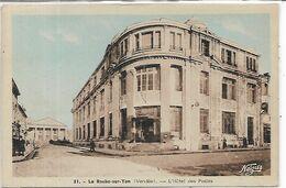85, Vendée, LA ROCHE SUR YON, L'Hôtel Des Postes, Scan Recto Verso - La Roche Sur Yon