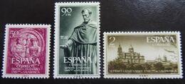 &BAR-12& SPAIN, ESPAÑA, EDIFIL 1126/1128, MICHEL 1021/1023, YVERT 835/837 MNH**. - 1931-Heute: 2. Rep. - ... Juan Carlos I