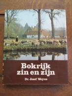 """Boek  BOKRIJK  """" ZIN EN  ZIJN  """"  Door DR .  JOZEF  WEYNS    EERSTE  DRUK 1972 - Ontwikkeling"""