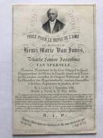 Congrès National 1830 Nationaal Congres VAN INNIS Lede Litho Hemelsoet 1864 - Devotion Images