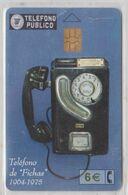 SPAIN 2002 TELEFONO DE FICHAS PUBLIC TELEPHONE - Telephones