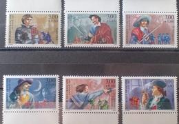 DF40266/2073 - 1997 - CELEBRITES (SERIE COMPLETE) - N°3115 à 3120 NEUFS** BdF - France