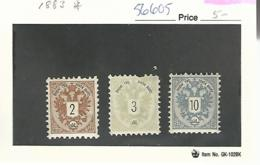 56605 ) Austria 1883 - Neufs