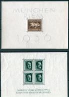 Deutsches Reich - Michel Block 4 & 7 Ungebr.*/MH - Blocks & Sheetlets