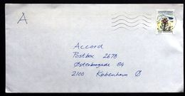 Greenland 1993 Letter Send To Denmark  ( Lot 2105 ) - Cartas