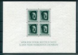 Deutsches Reich - Michel Block 7 Ungebr.*/MH - Blocks & Sheetlets