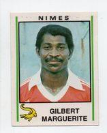 - AUTOCOLLANT FOOTBALL 81 - NIMES - GILBERT MARGUERITE - Série PANINI 233 - - Panini