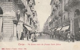 Piemonte - Torino - Via Roma Vista Da Piazza Carlo Felice - - Places & Squares