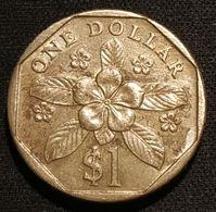 SINGAPOUR - SINGAPORE - 1 DOLLAR 1990 - KM 54b - Singapore
