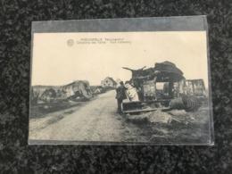 Poelcapelle ( Langemark - Poelkapelle ) English Tank Mark IV -Tankskerhof Cemetery Cimetière- 1914-1918 Panzer - - Langemark-Poelkapelle